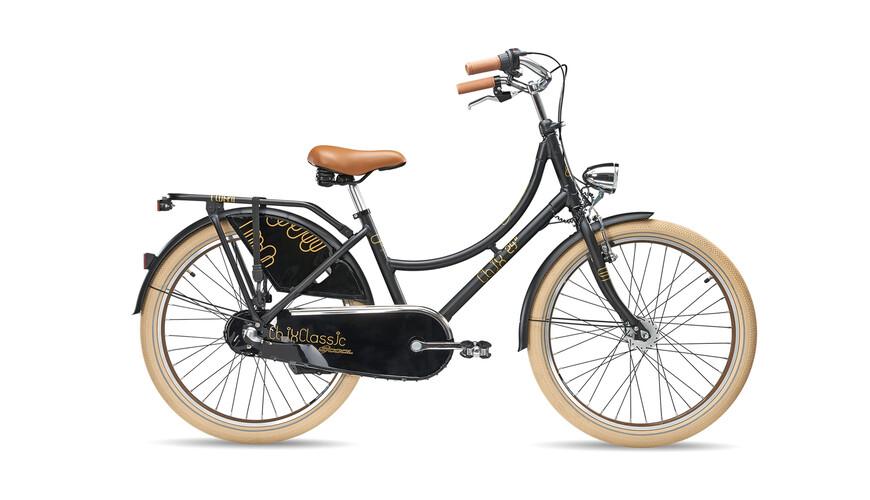 "s'cool chiX classic 24-3 - Bicicletas para niños - 24"" negro"